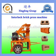 Source 2016 New type YF1-20 pressed block making machinery on m.alibaba.com