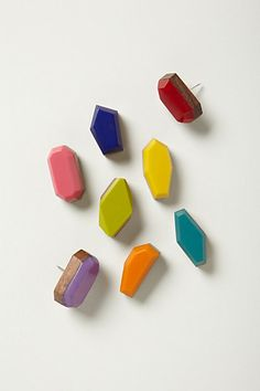 Faceted Pushpins