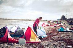Jeep® X Red Bull Coast 2 Coast: Gleich beginnt der härteste Kite-Marathon der Welt!