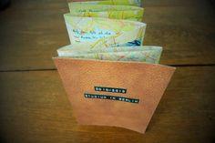 Leporello aus Landkarten / Leporello made from maps / Upcycling