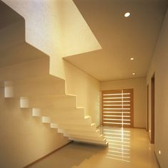 Paper-thin staircase in La Cima Houses - photo: Mito Covarrubias