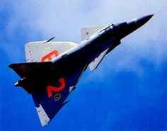 Saab Viggen -- the unpainted fighter version of the with mounted automatic cannon and the brutal Volvo Flygmotor Fighter Aircraft, Fighter Jets, Swedish Armed Forces, Swedish Air Force, Military Aircraft, Volvo, Airplane, Aviation, Top Gun