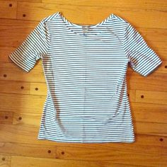 New Striped H&M Top Worn once, stretchy material H&M Tops