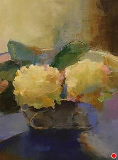 Hydrangeas for Kathryn by Ann Watcher Oil ~ 24 x 18