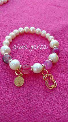 Perlas cultivadas y agatas