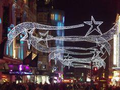 christmas lights in london -