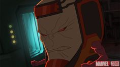 M.O.D.O.K. in Marvel's Avengers Assemble - By the Numbers Marvel Avengers Assemble, Marvel Heroes, Marvel Dc, Marvel Animation, Marvel News, Marvel Entertainment, Puns, Neon Signs, Superhero
