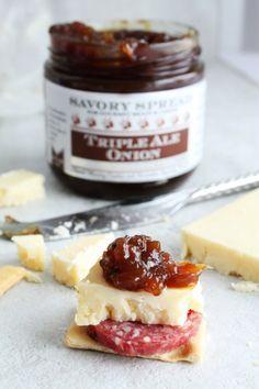 Gourmet Spreads | Triple Ale Onion Spread | Wozz! Kitchen Creations