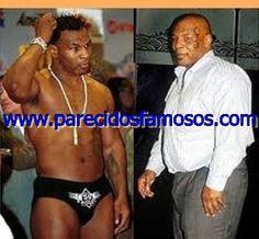 Parecidos con famosos: Mike Tyson antes y después