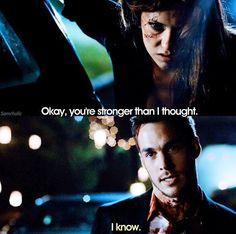 """""""Ok, você é mais estranho que eu pensei... Eu sei """" ♡"""