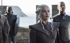 Download wallpapers Game of Thrones, 2017, A Song of Ice and Fire, Emilia Clarke, Daenerys Targaryen, season 7