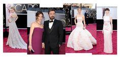 Oscars Academy Awards 2013 Anne Hathaway Prada Jennifer Lawrence Christian Dior Haute Couture, Amanda Seyfried Alexander McQueen