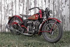 1940 Indian Scout. A newer version with the tan leather seat and saddle bags, along with chrome accesories and a custom indian head paint job would be great.