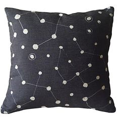Hand Painted with Black and White Dot and the Attachment Decorative Pillow Cover – USD $ 14.99