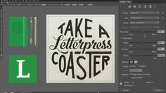 http://LearnLettering.com - Learn how to digitize hand lettering. I show you my hand lettering process and how I take a lettering image onto the computer. To...