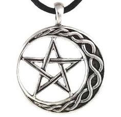 Amazon.com: Wicca Stability Amulet Talisman Pentagram Pentacle Necklace Pendant Charm Religious Wicca Wiccan Pagan Men's Women's Jewelry Fiv...