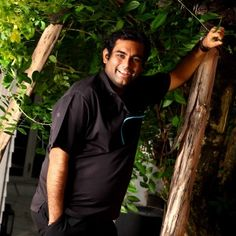 Gaggan Anand, owner and chef of Gaggan Restaurant in Bangkok - the Worlds best Indian restaurant. Gaggan was trained at el Bulli