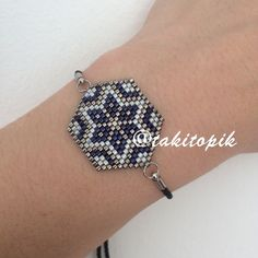 #miyuki #miyukidelica #miyukistore #jewerly #takı #takıtasarım #bileklik #handmadejewelry #elemeği #takitopik Loom Bracelet Patterns, Seed Bead Patterns, Bead Loom Bracelets, Bracelet Designs, Diy Jewelry, Beaded Jewelry, Handmade Jewelry, Brick Stitch Earrings, Bead Embroidery Jewelry