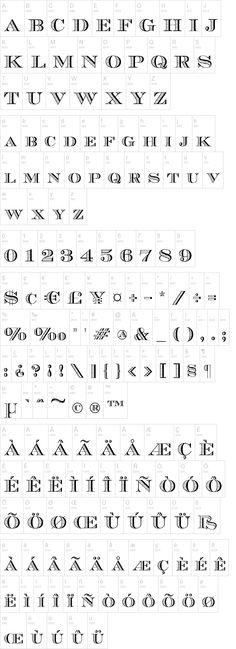 Ecuyer DAX Font | dafont.com