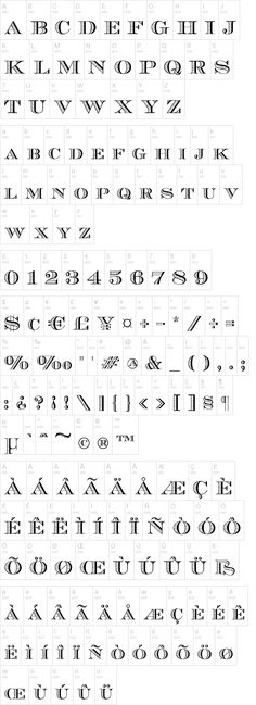 Ecuyer DAX by Daxad font for vintage numbers #font