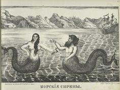 """Mermaids — legendary half-human, half marine creatures — have fascinated people for centuries and inspired many """"sightings."""""""