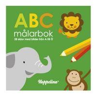 ABC Målarbok från Hoppelina