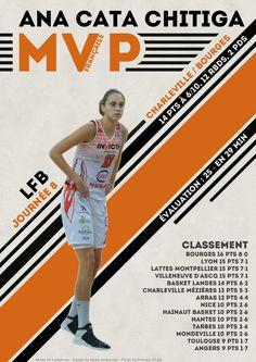 Ana Cata Chitiga - MVP Française - LFB Journée #8