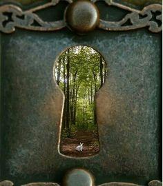 Keyhole to reality!