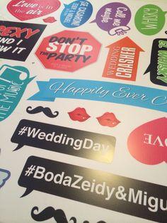 Preparando letreros para boda #YoImprimoEnKreativ #wedding #weddingprops