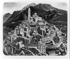 Goriano Sicoli - M.C. Escher - 1929