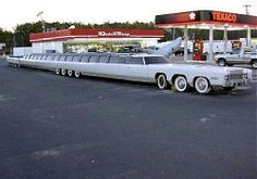 The longest limousine built ever in the world is a limousine 100-ft long that was created by Jay Ohrberg of Burbank, California.