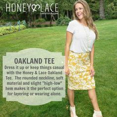 Honey & Lace Oakland Tee