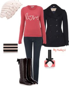 """""""♥ Cute Winter Outfit ♥"""" by iamtheashley on Polyvore"""