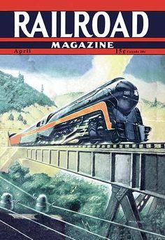 Railroad Magazine: The Speedy Future of Railroading, 1942