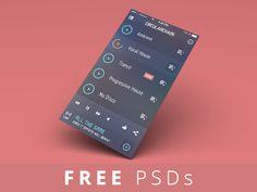FREE PSDs - iGravertical Screen Layers + iOS 7 Screen Converter by Balraj Chana