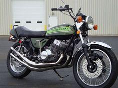 1974 Kawasaki H2 Mach IV Restoration