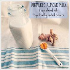 tumeric almond milk