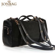 TaoBao Products: Simple the Bai grid new handbags European and American Retro College Wind black big bag Shoulder Messenger portable 16531 - MisterTao.com