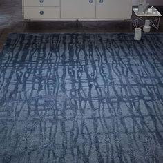 Cascade Wool Rug - Midnight