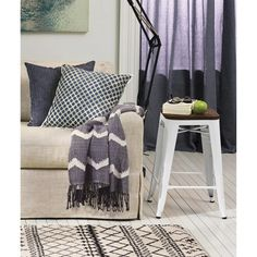 Nate Berkus™ Woven Peak Throw