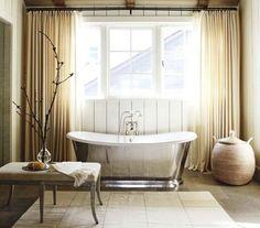 chrome bathtub