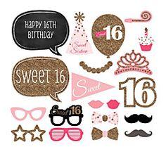 Papel+Cartão+Decorações+do+casamento-20Peça/Conjunto+Aniversário+Baile+de+Debutante+Festa+de+aniversário+–+EUR+€+17.88