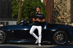 Amazing photo shoot in Hampstead. Men Fashion Photoshoot, Mont Real, Man Photo, Photo Shoot, Photo Ideas, Cool Photos, Leather Pants, Maternity, Urban