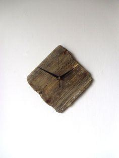 Driftwood Wall Clock  Wall Beach Clock  Recycled by NaturalClocks, £20.00