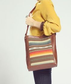 Totem Bag - Stripes - Grace Designs - $140.00 - domino.com