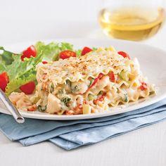 lasagne aux fruits de mer   Sauce aux fruits de mer - Recettes - Cuisine et nutrition - Pratico ...