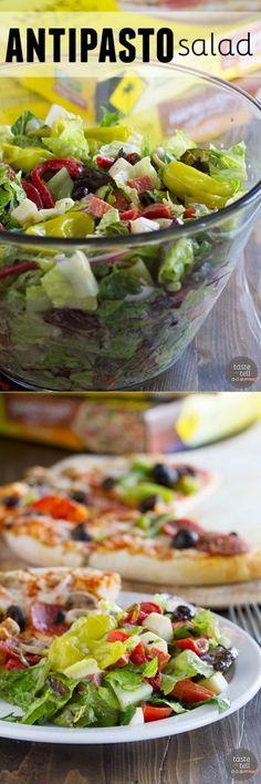 Antipasto Salad - Ta