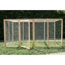 Enclos à poules, parc à poules, parcours herbeux (3) - Poulailler Design
