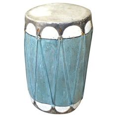 Check out this item at One Kings Lane! Early-20th-C. Painted Pueblo Drum