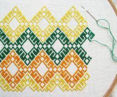 german brick stitch | Flickr - Photo Sharing!
